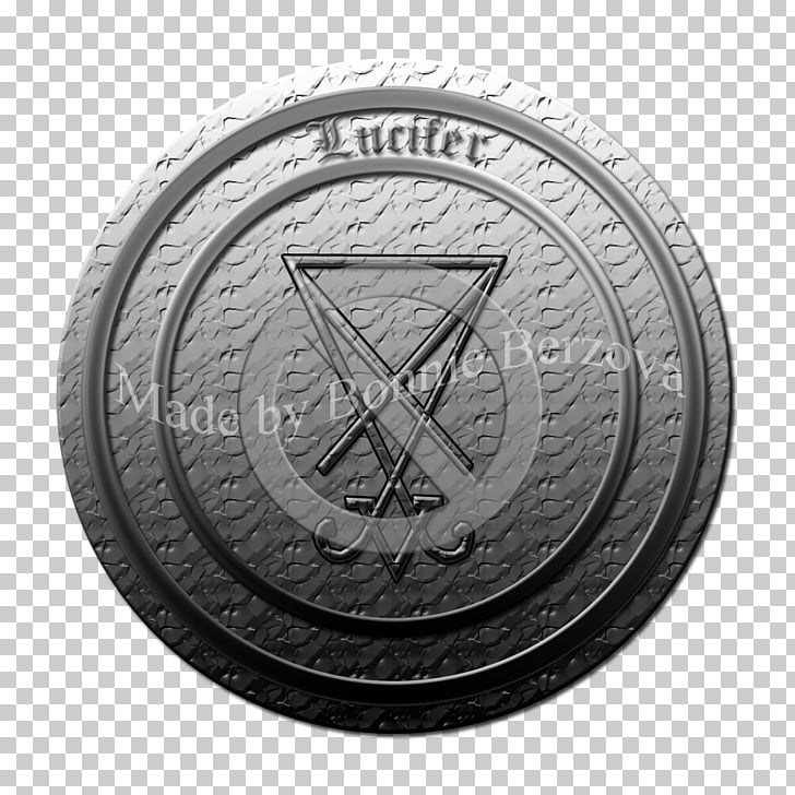 Badge Emblem Coin, metal texture PNG clipart.
