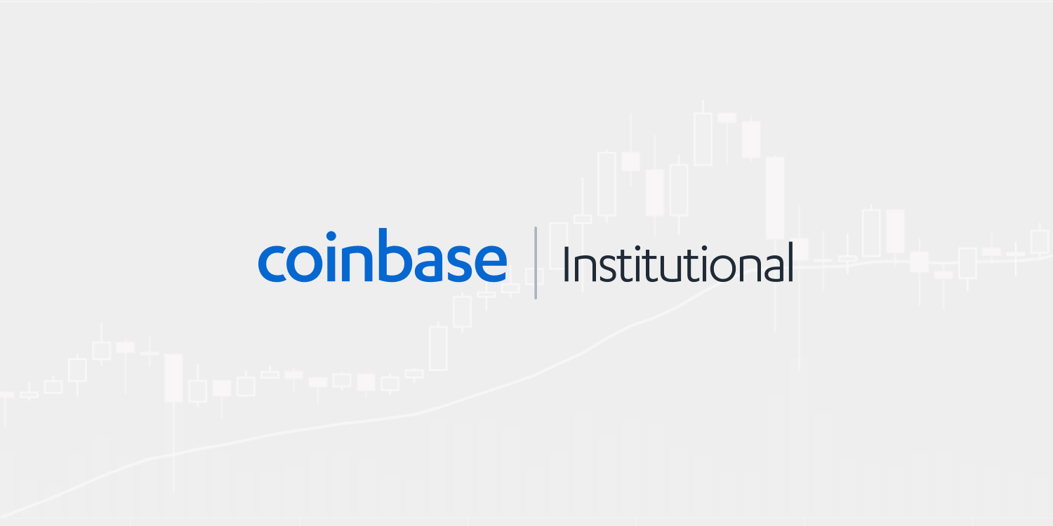 Announcing the Coinbase Suite of Institutional Products.