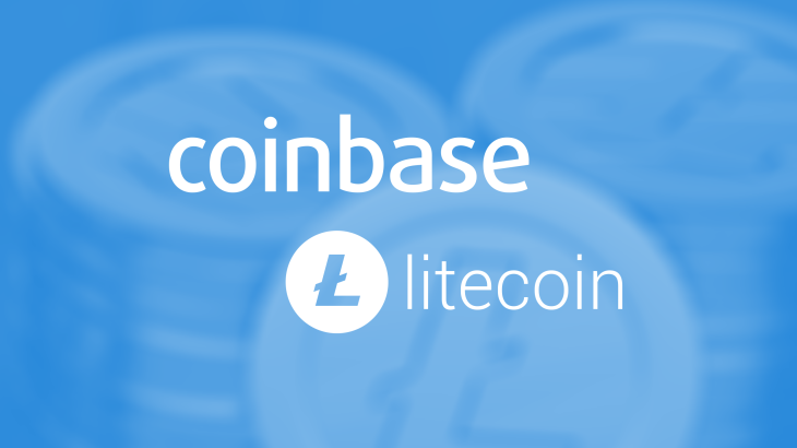 Coinbase adds support for Litecoin.