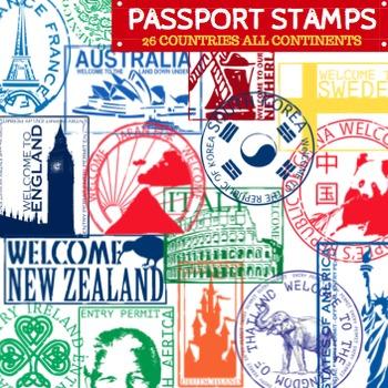 670 Passport free clipart.