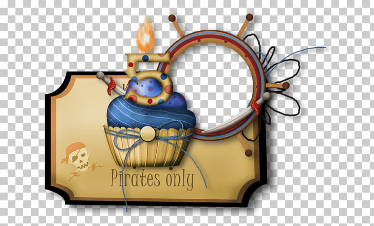Marco de pastel de cumpleaños, dibujos animados marco de.
