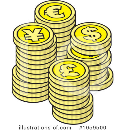 All Coins Clipart.