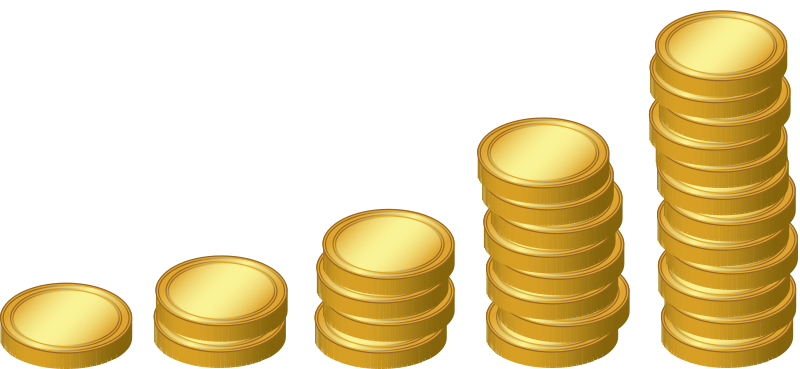 Free to Use & Public Domain Coins Clip Art.