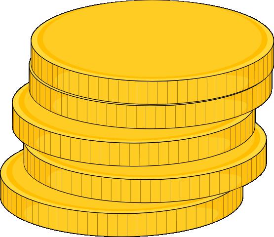 Coins clipart.