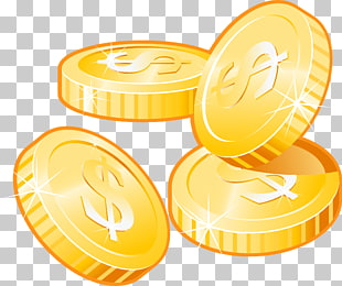 Coin Icon, Finger coins coins PNG clipart.