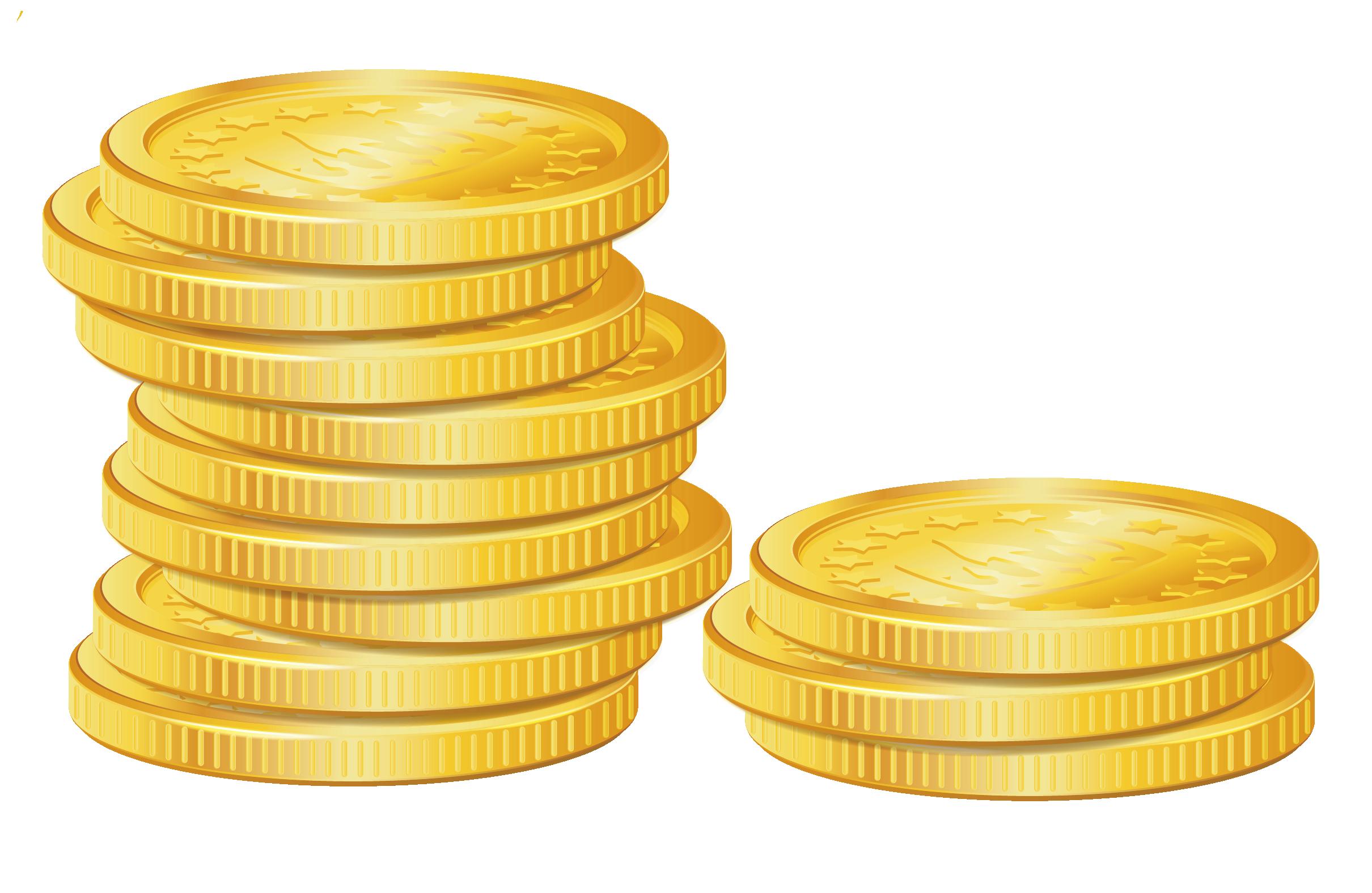 Gold coin Gold coin Clip art.