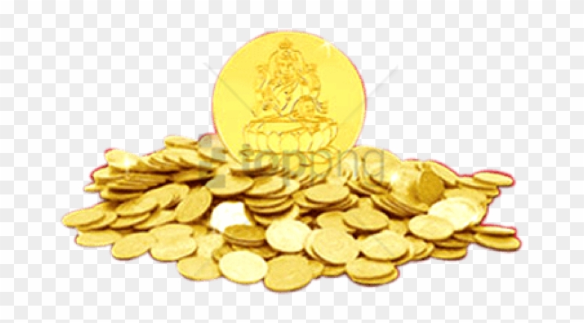 Free Png Download Indian Gold Coins Png Images Background.
