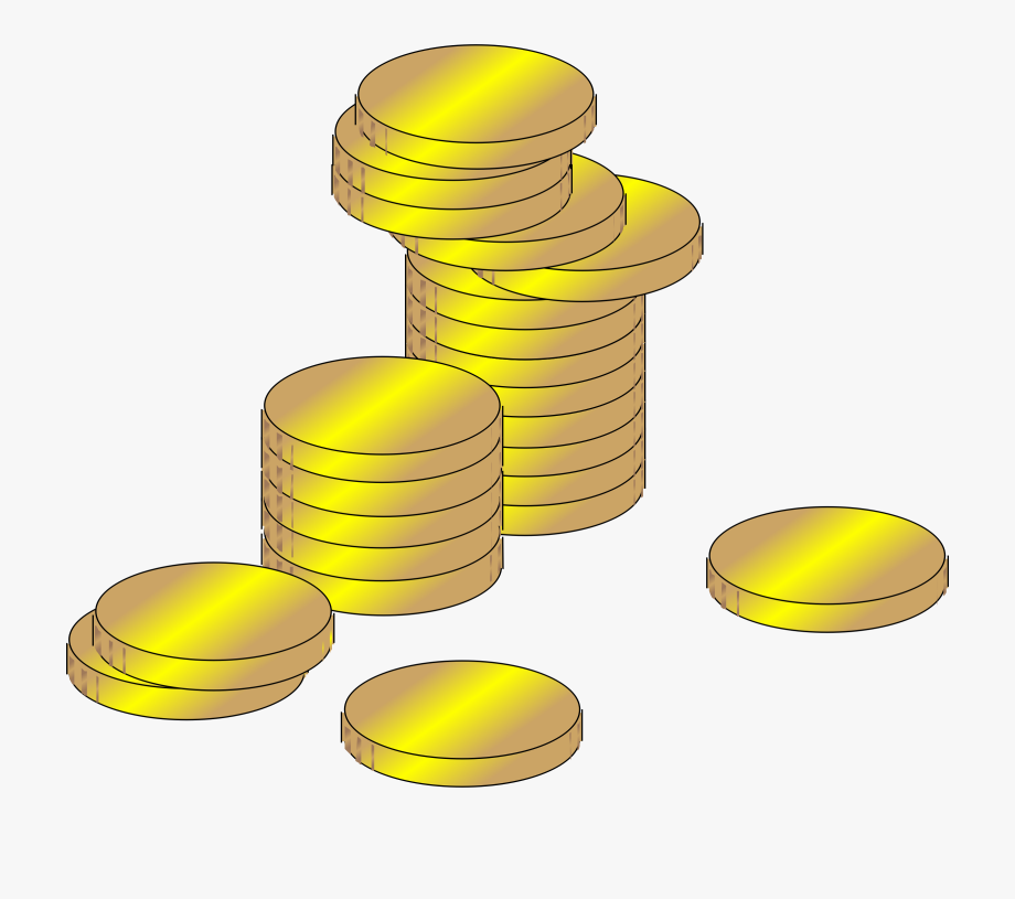 Coins Clipart Gold Coin.