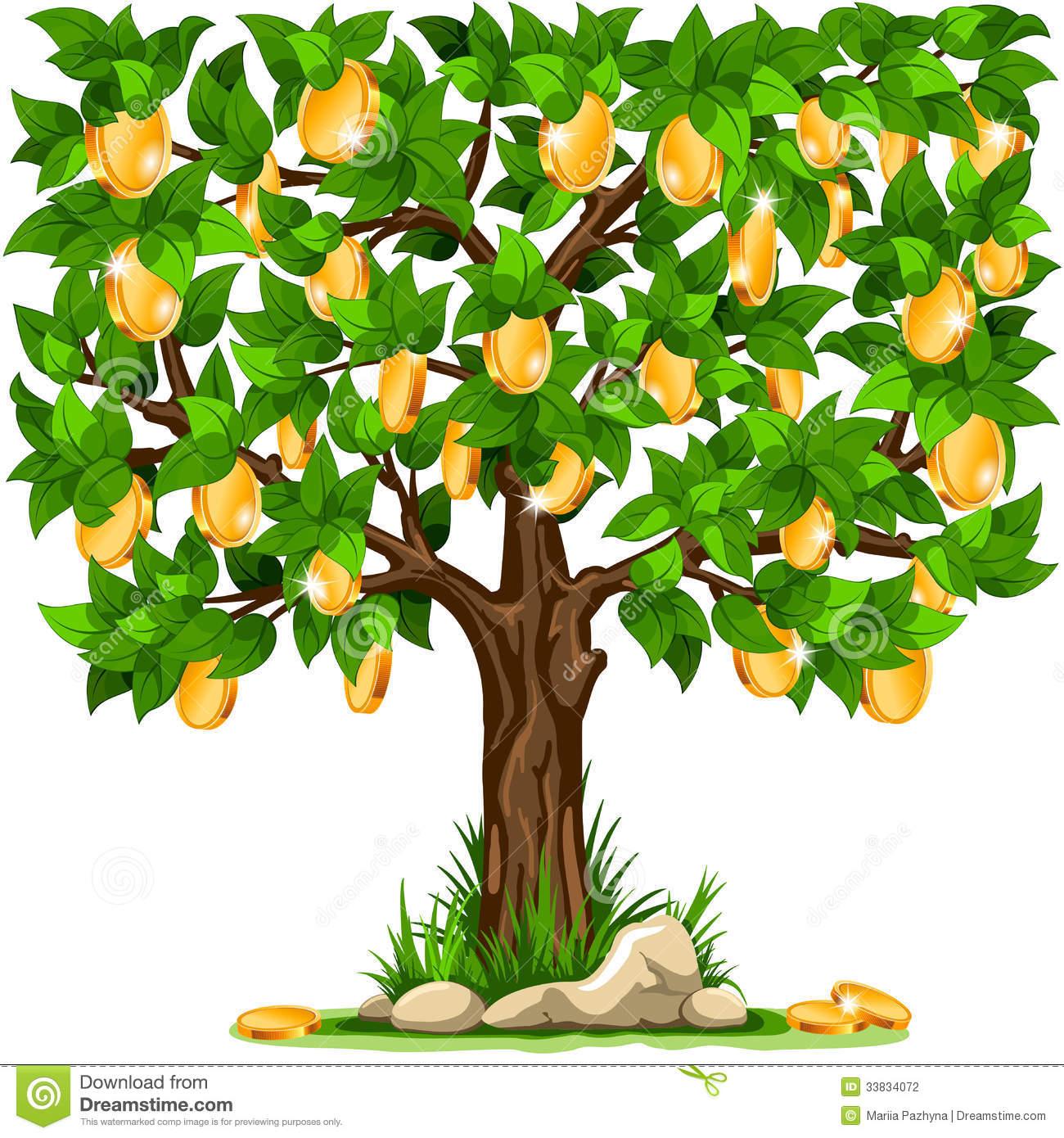 Money Tree Stock Photography.
