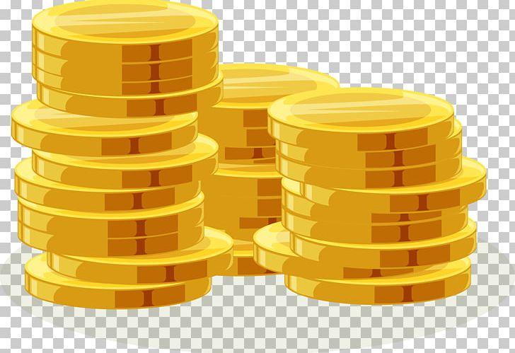 Gold Coin Euclidean PNG, Clipart, Adobe Illustrator, Cartoon.