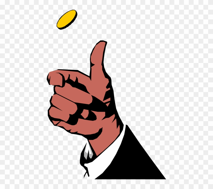 Png Transparent Stock Toss Heads Or Tails Vector Image.
