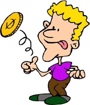 2888 Coin free clipart.