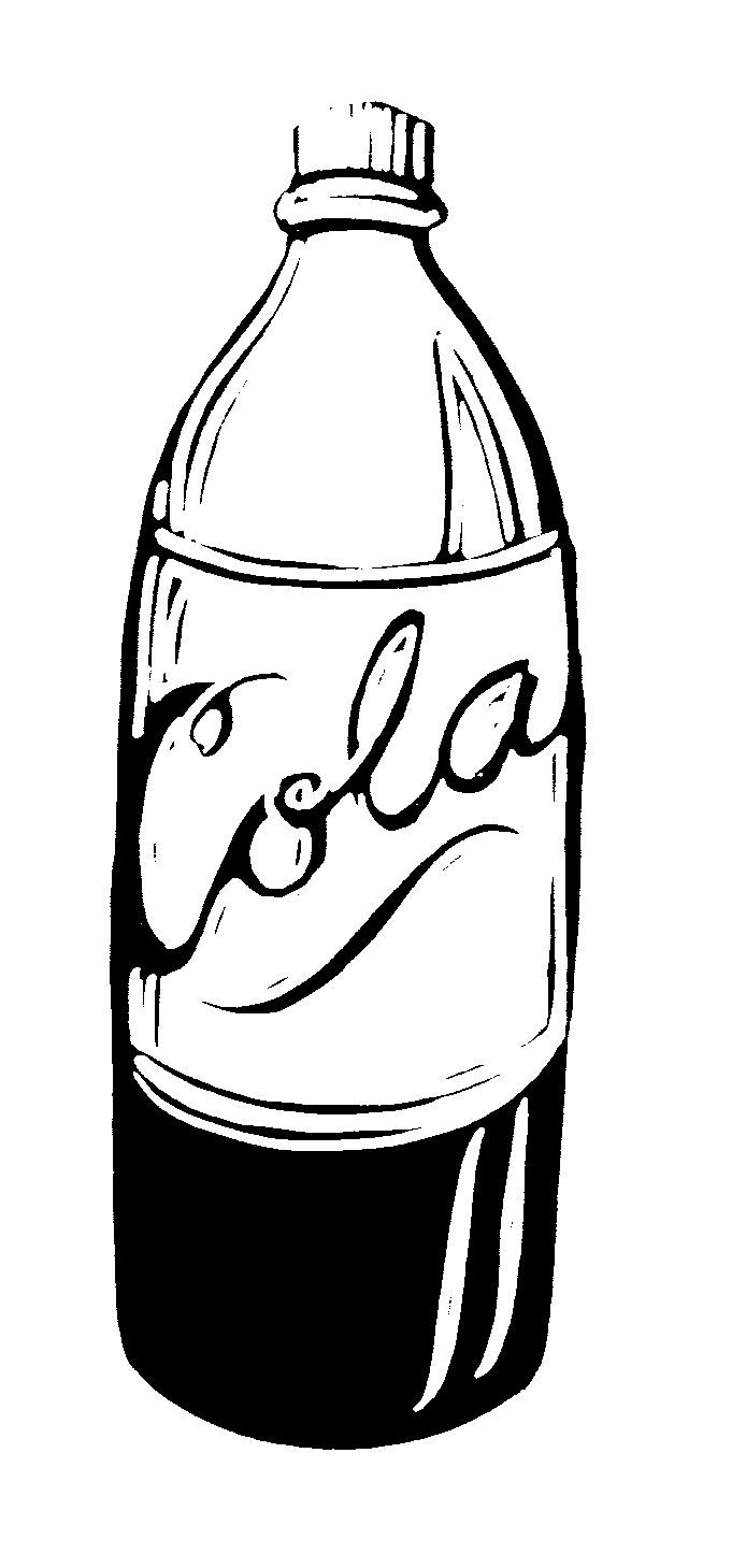 coke bottle clipart clipground