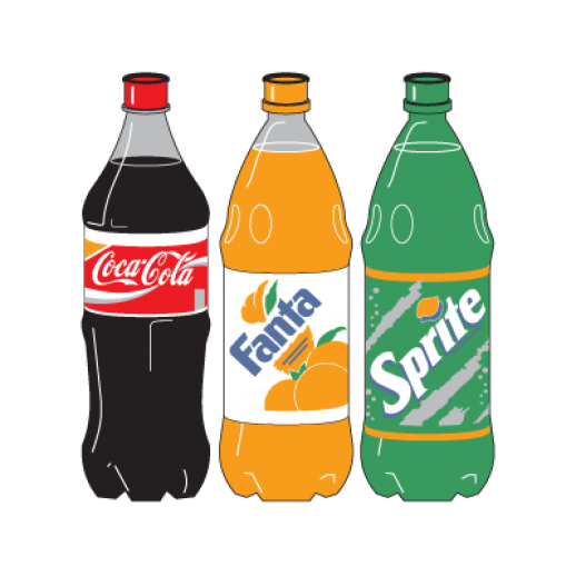 Coke bottle clipart.