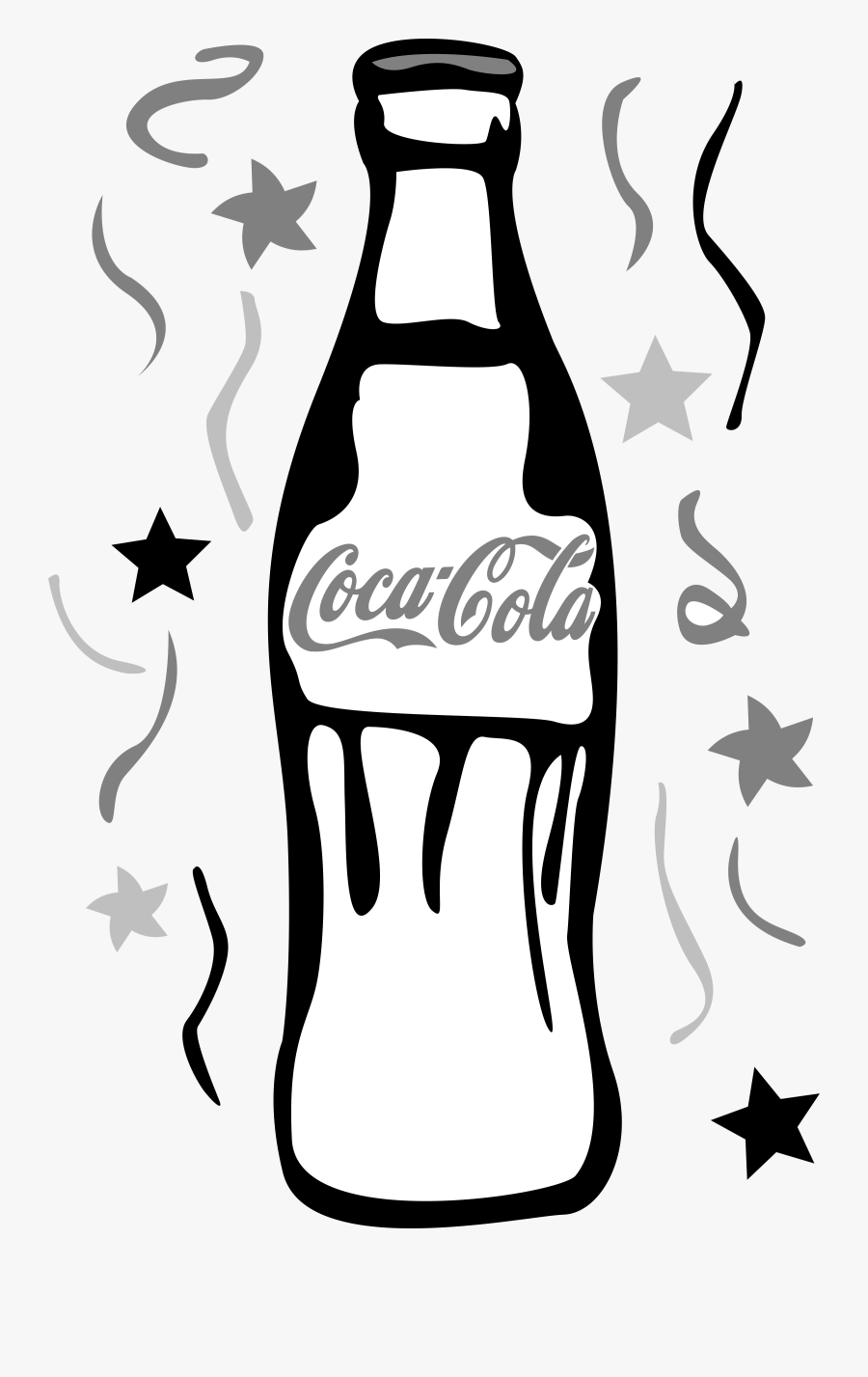 Collection Of Free Bottle Drawing Coca Cola Download.