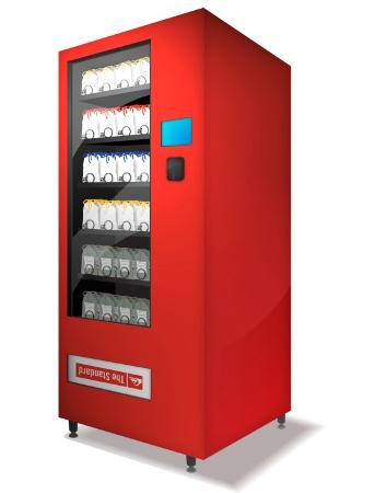 Vending Machine Graphics.