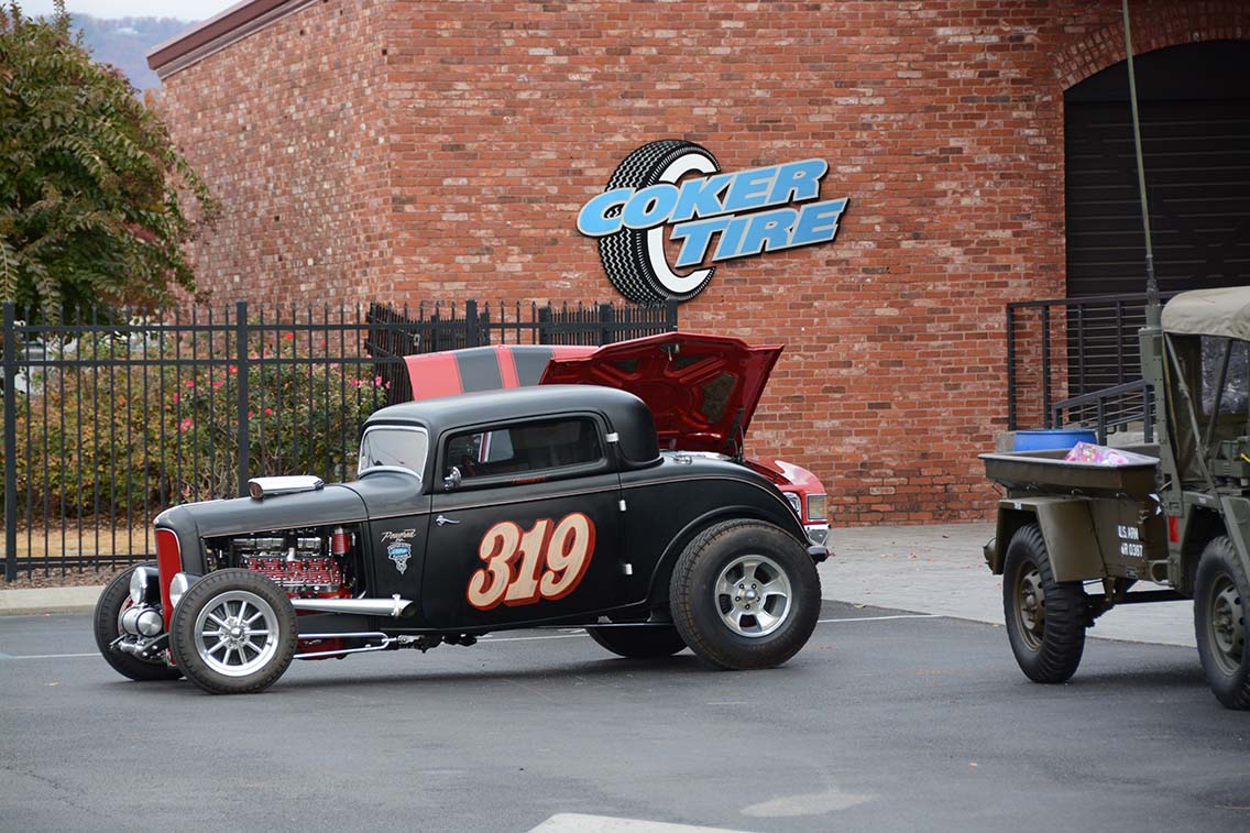 Coker Tire & Marine Corps Reserve Toys for Tots Rod Run.