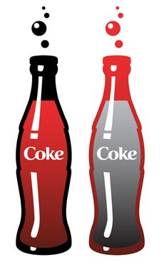 Cola bottle clipart.