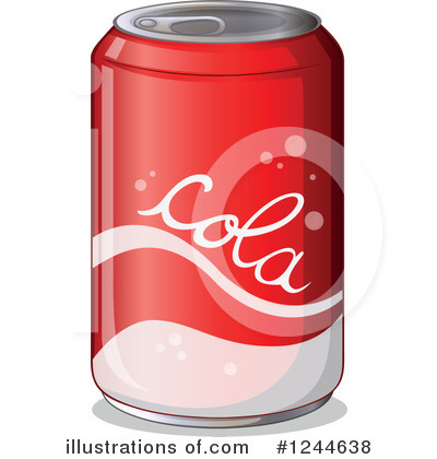 Soda Can Clipart #42035.