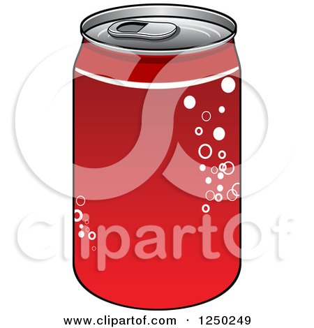Clipart of a Soda Cola Can.