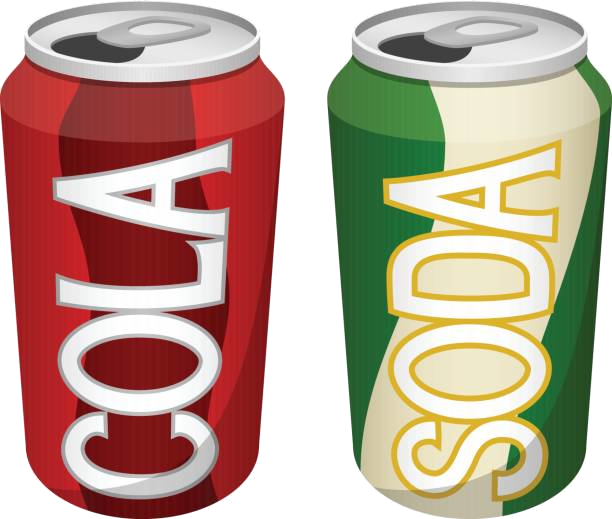 Soda Can Clipart Free Best On Transparent Png.