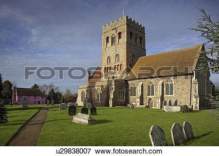 Picture of England, Essex, Colchester, Exterior of St Barnabas.