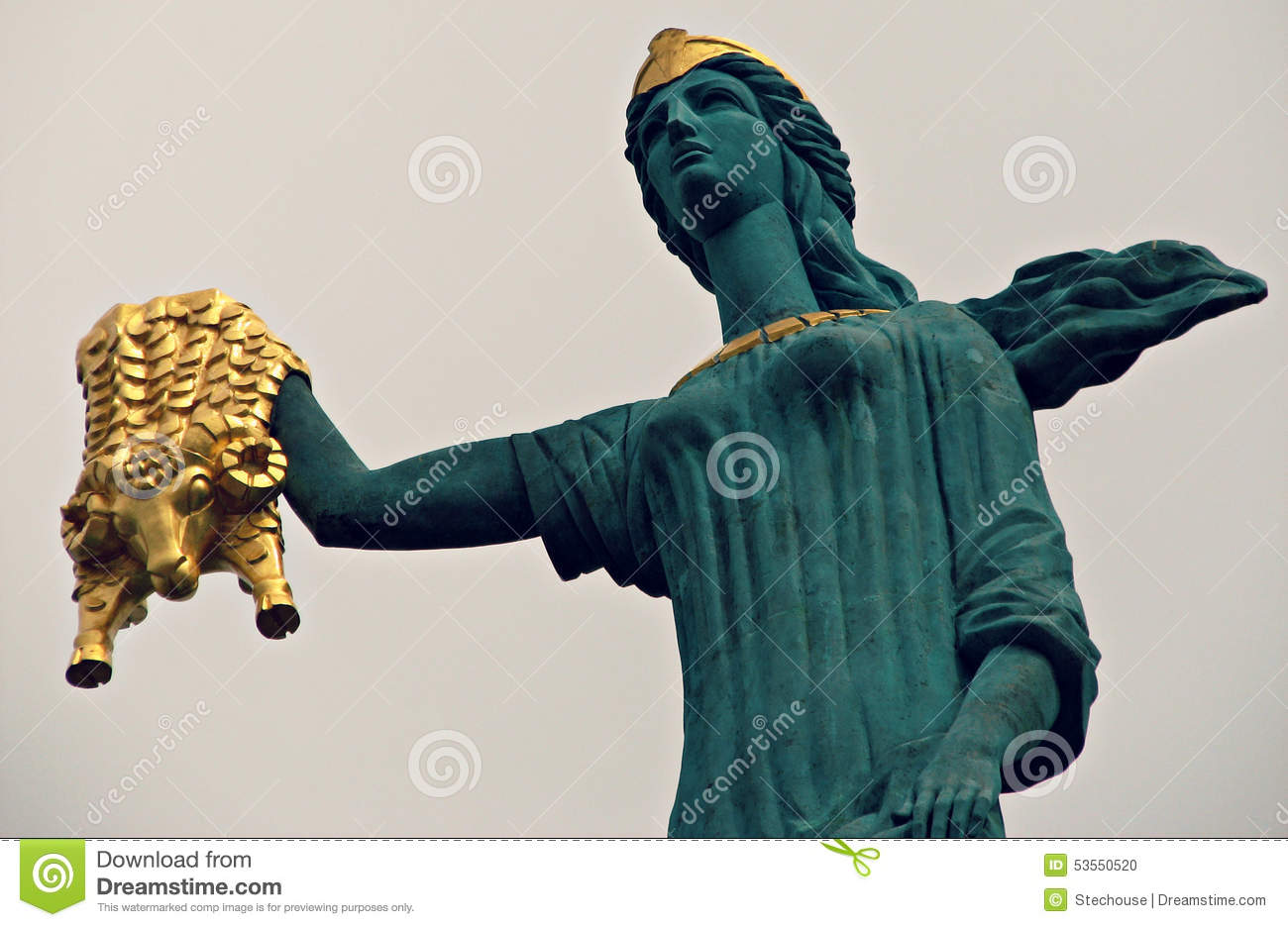 Jason, The Argonauts, And The Golden Fleece Stock Photo.