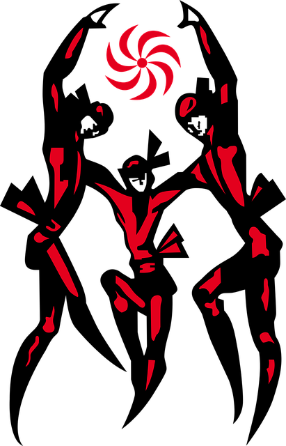 Free vector graphic: Dance, Colchis, People, Figures.