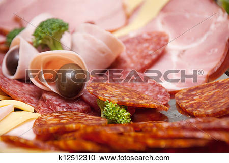 Stock Photography of cold buffet k12512310.
