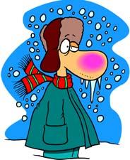 Cold Clip Art Images.