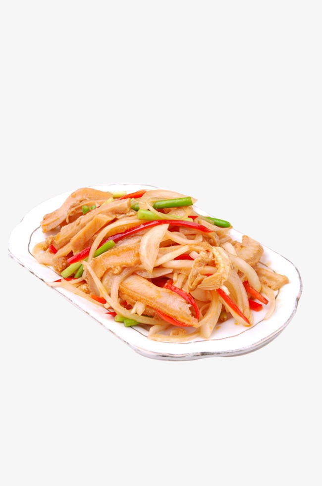 Fried Tripe, Yang Du, Chili Fried Tripe, Cold Cuts PNG Image and.