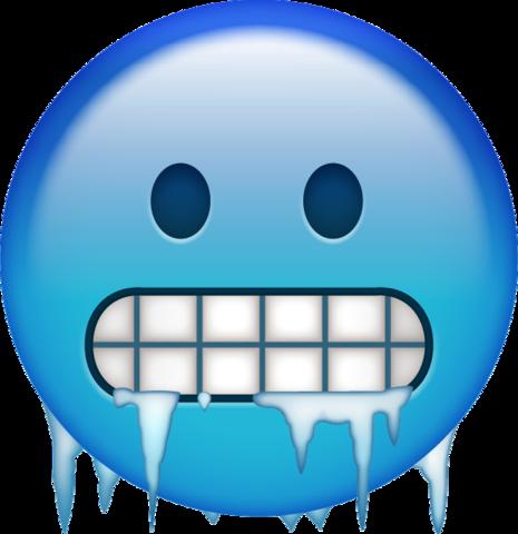 Cold Emoji.