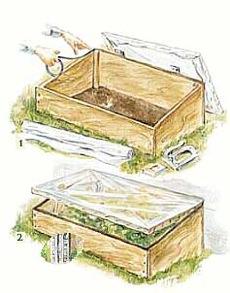 Garden Cold Frames at WoodworkersWorkshop.com.