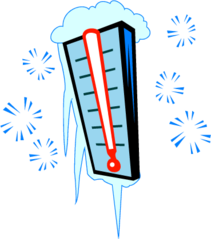 Freezing cold clipart.