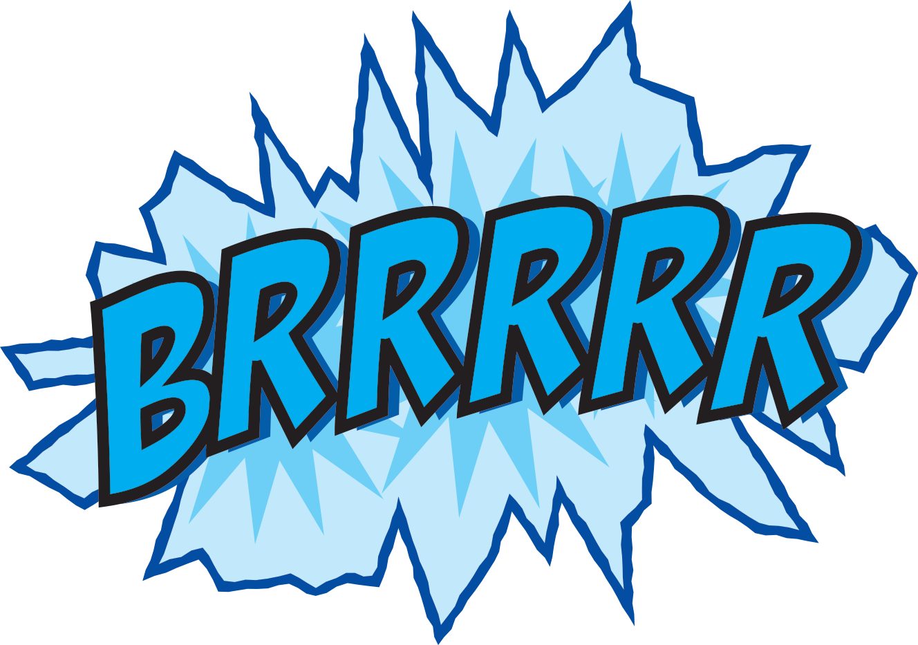 Free student freezing clipart.