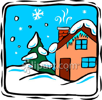 Cold House Clipart.