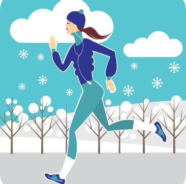 What to Wear When Running in Winter.