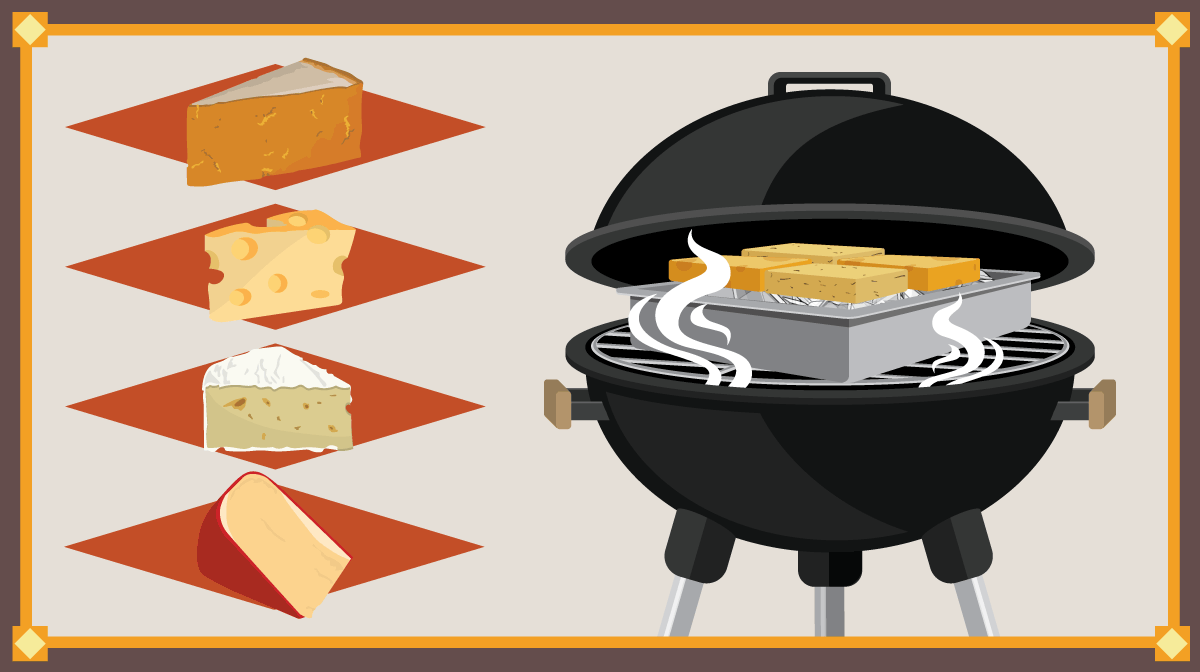 How to Smoke Cheese on the Grill.