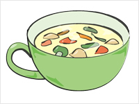 Chicken Soup Clipart.