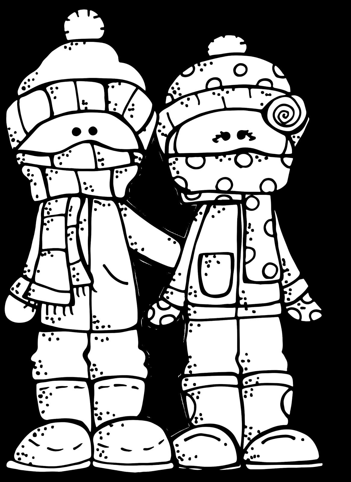Melonheadz LDS illustrating: Winter Freebie :).