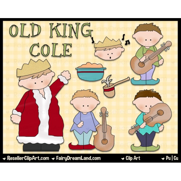 Old king cole clipart.