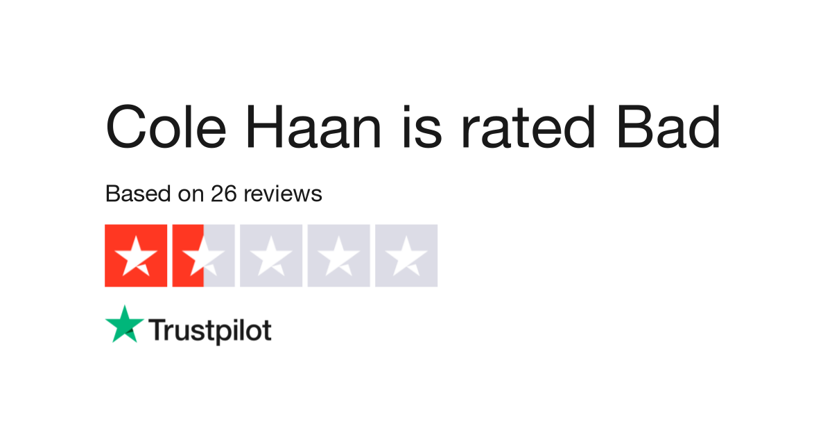 Cole Haan Reviews.