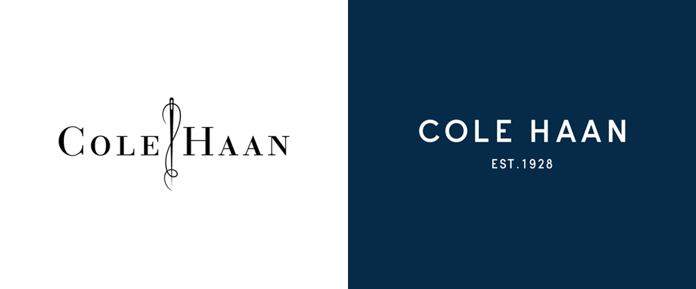 Brand New: New Logo and Identity for Cole Haan done In.