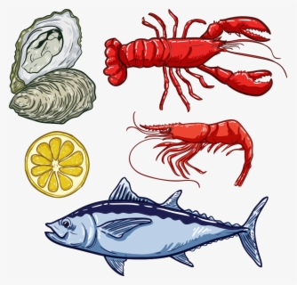 Free Seafood Clip Art with No Background.