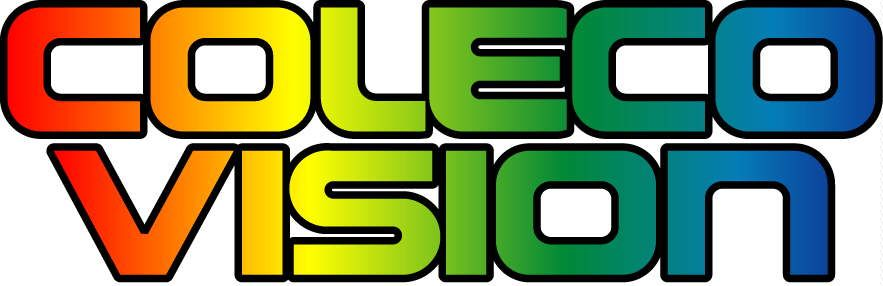 Logo of the ColecoVision, an early video game console.