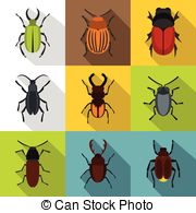 Coleoptera Vector Clipart Royalty Free. 198 Coleoptera clip art.