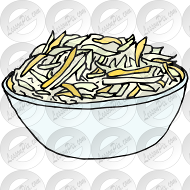 Coleslaw Picture for Classroom / Therapy Use.