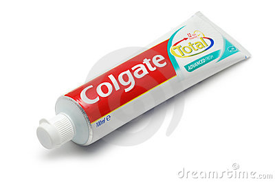 Colgate Max Fresh Night Formula Toothpaste Editorial Photography.