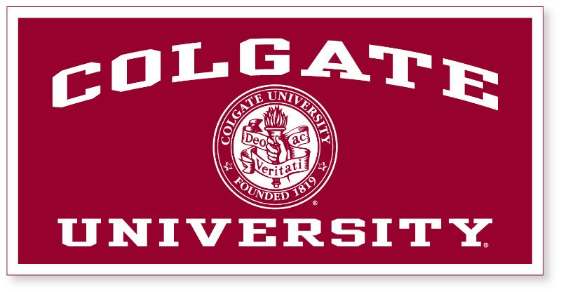 Banner With Colgate University And Seal (18X36) (SKU.