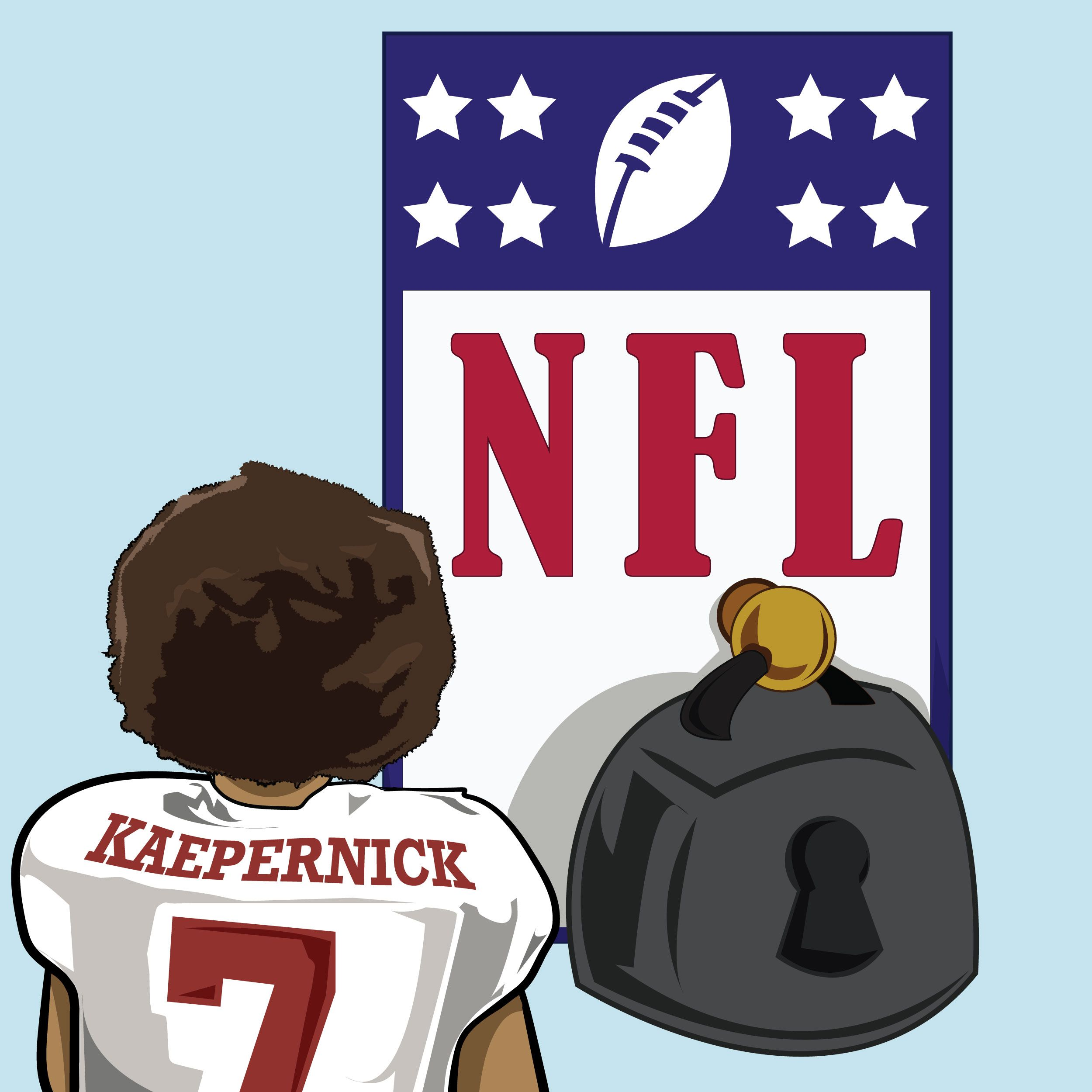 Colin Kaepernick has started a movement. See more artwork on.